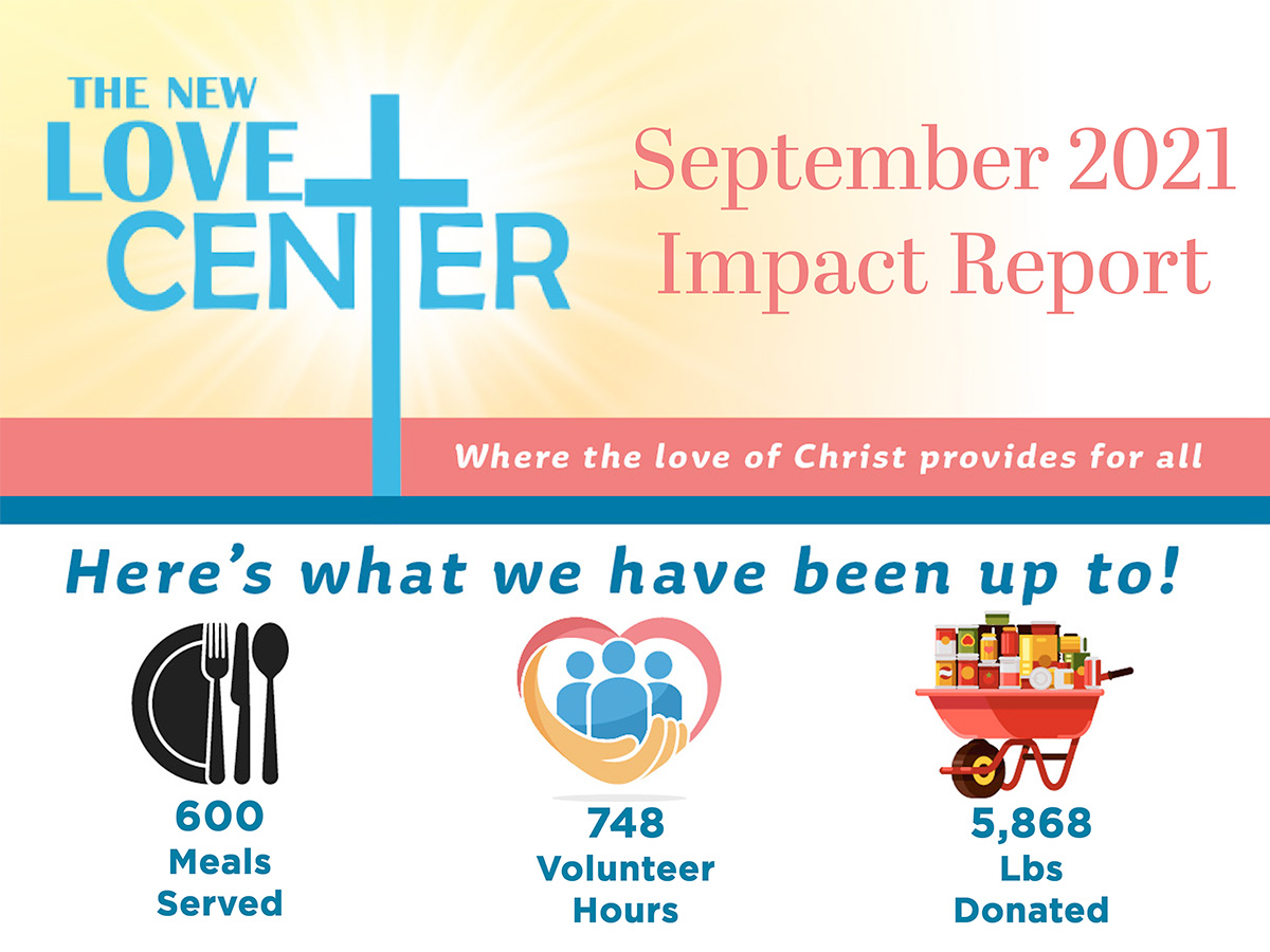 September Donor Impact Report